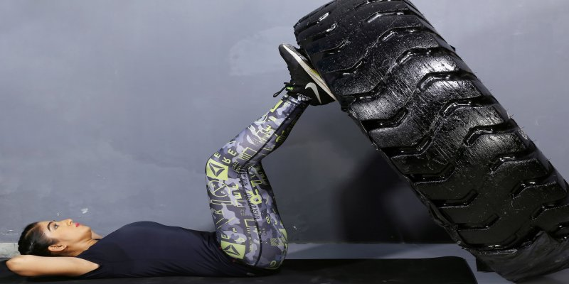 Tyre workout: An effective & fun way to shape full body