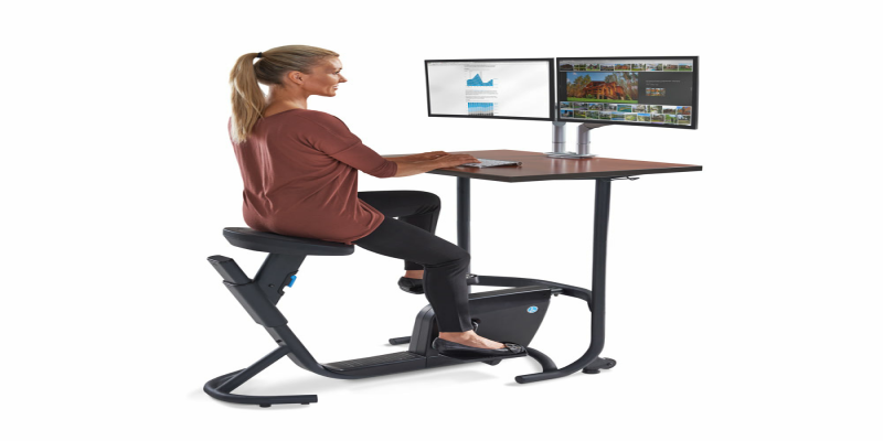 Cycling and Treadmill Workstations May Cut Stress: Foods Also