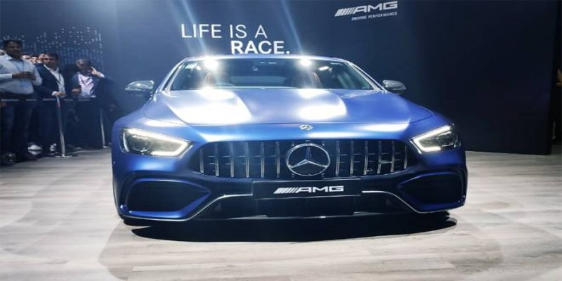 Mercedes-Benz presents AMG GT 63S worth Rs 2.42 crore at Auto Expo 2020