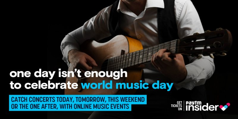 Celebrate your love for music this World Music Day with virtual concerts on PayTM