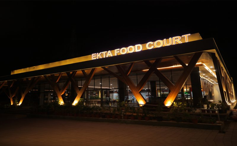Dine with Global standard amidst the beauty of Kevadia and SoU