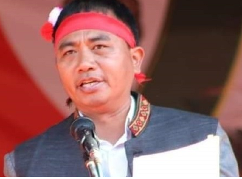Independent candidate from Manipur's Singhat assembly constituency  withdrawn his nomination papers