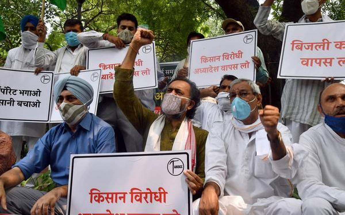 Barnala farmer with amputated arm and leg joins protest against Agriculture Bill 2020