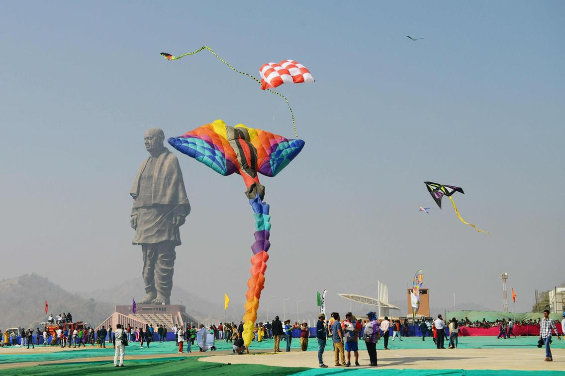 Kevadia: 1.77 lakh tourists visited Statue of Unity in Christmas week