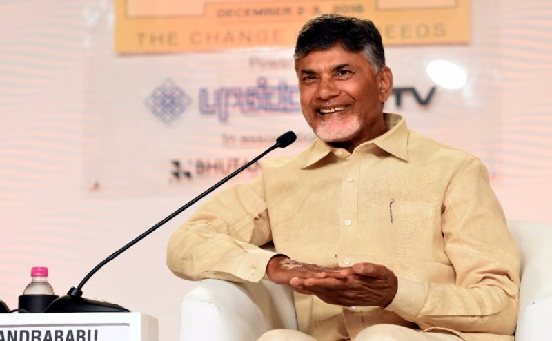 TDP chief N Chandrababu Naidu holds talks with various leaders in bid to form non-BJP government at the Centre