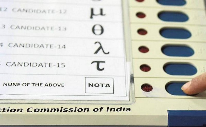 NOTA bagged more votes than BJP and Congress in this state