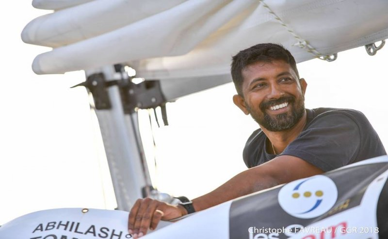 India Naval officer and Golden Globe Race participant Abhilash Tomy rescued safely