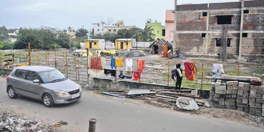 Govt land in Chennai change hands through fabricated pattas