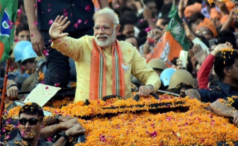 The Guardian views Modi`s victory as