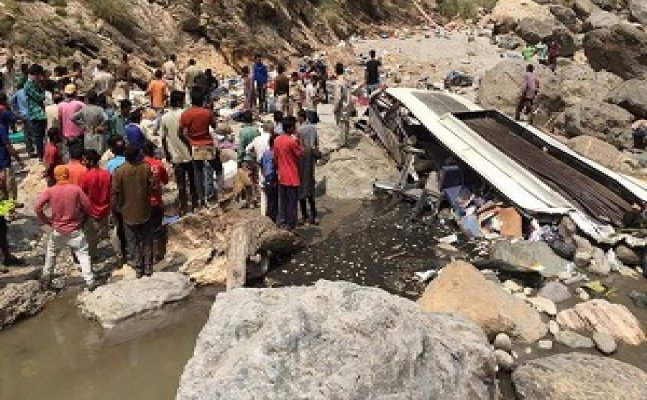 Over 30 dead, many injured after bus falls into gorge in Shimla
