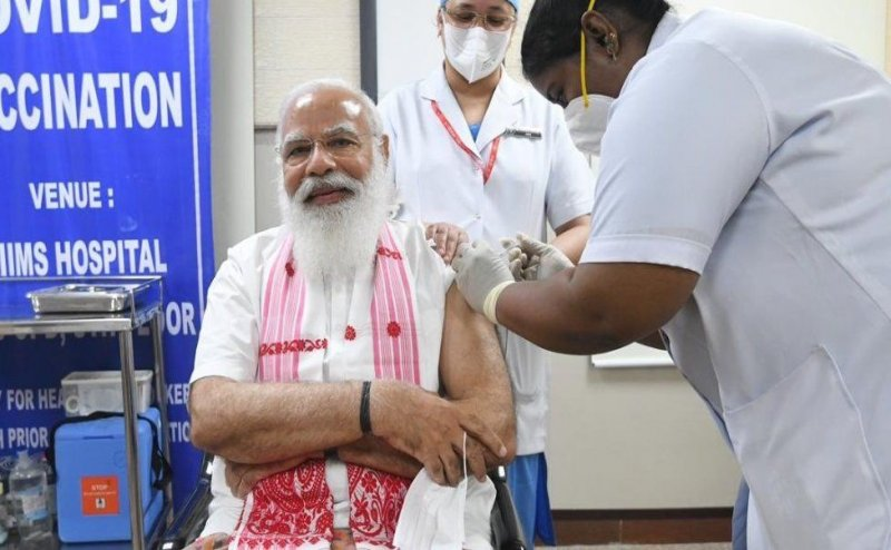 India sets record, administers 2 crore vaccine in a single day, on the birthday of Prime Minister Narendra Modi