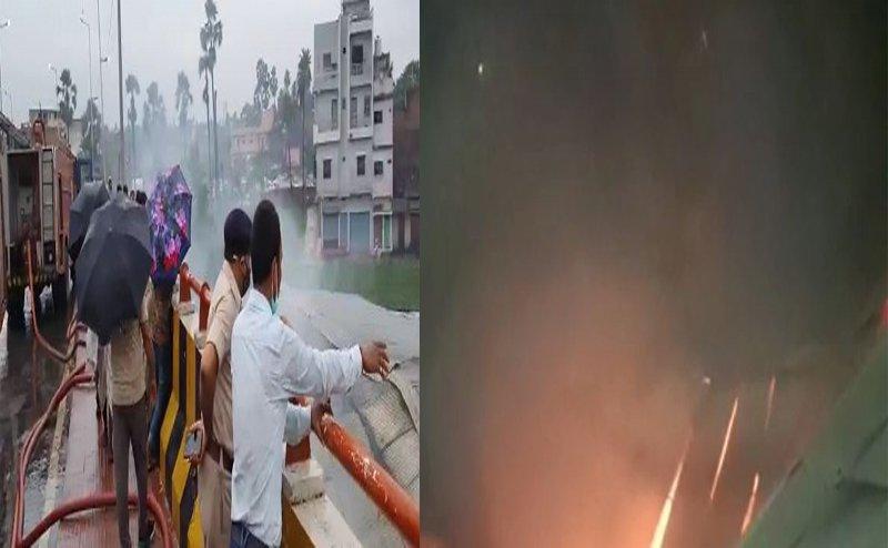Fierce fire broke out in Kurkure's factory in Patna, goods worth lakhs destroyed