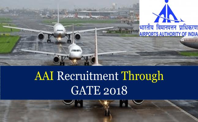 AAI to recruit graduate engineers via GATE scores