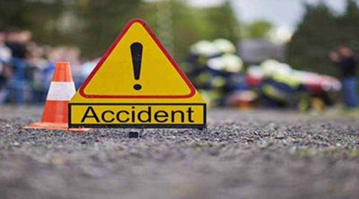 Four injured as uncontrolled car hits truck In MR 10