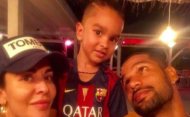 Shikhar Dhawan welcomes wife on Instagram | West Indies Vs India