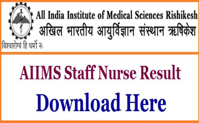 AIIMS Rishikesh staff nurse exam 2017: No candidates qualify, know what next
