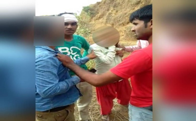 5 youths gangrape a woman in front of husband in Alwar