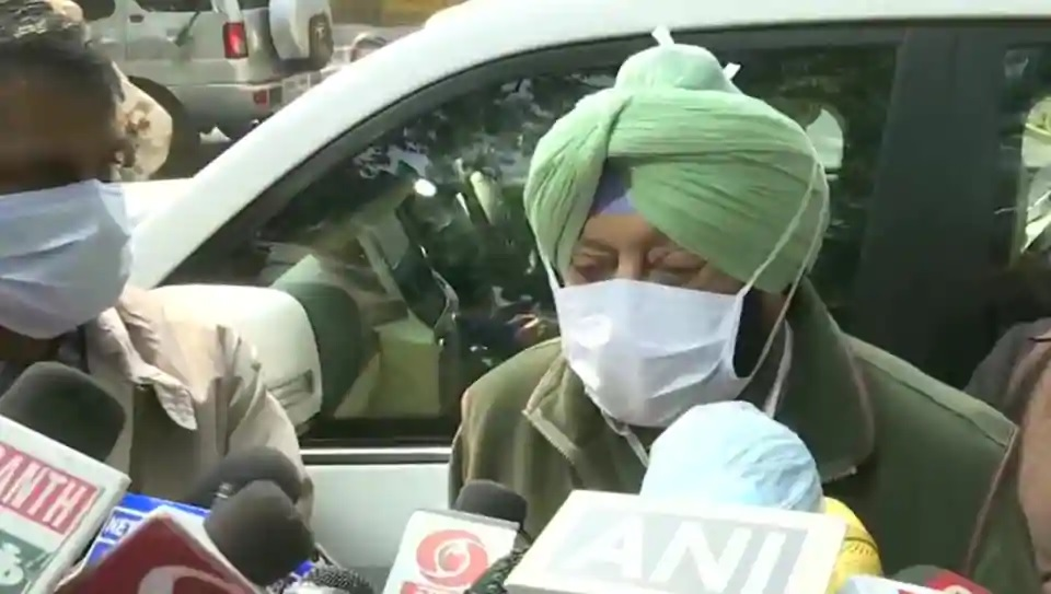 'Nothing for me to resolve': Punjab CM after meeting home minister Shah over farmers' stir