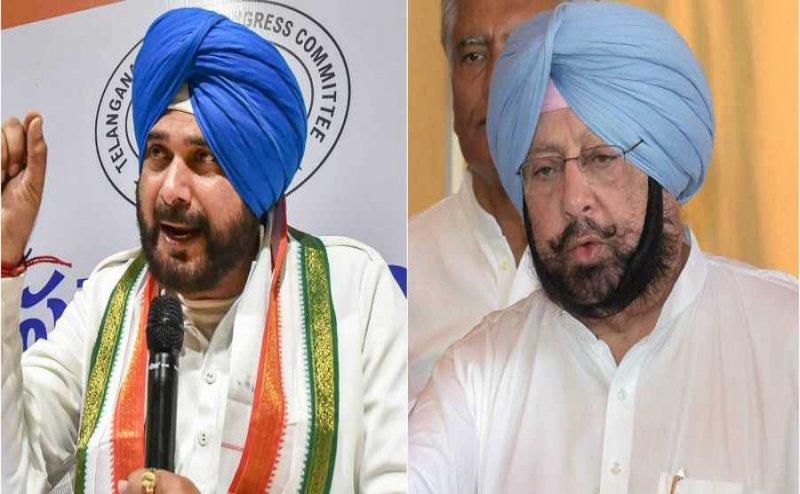 Punjab CM Amarinder Singh accepts Navjot Singh Sidhu`s resignation