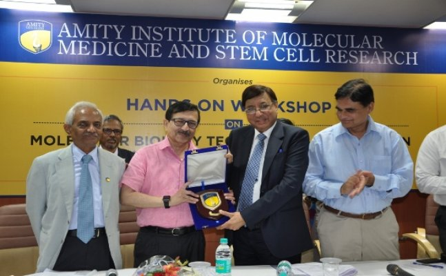 "Workshop on Molecular Biology Techniques & Stem Cells in Human Health and Disease"" organized at Amity"