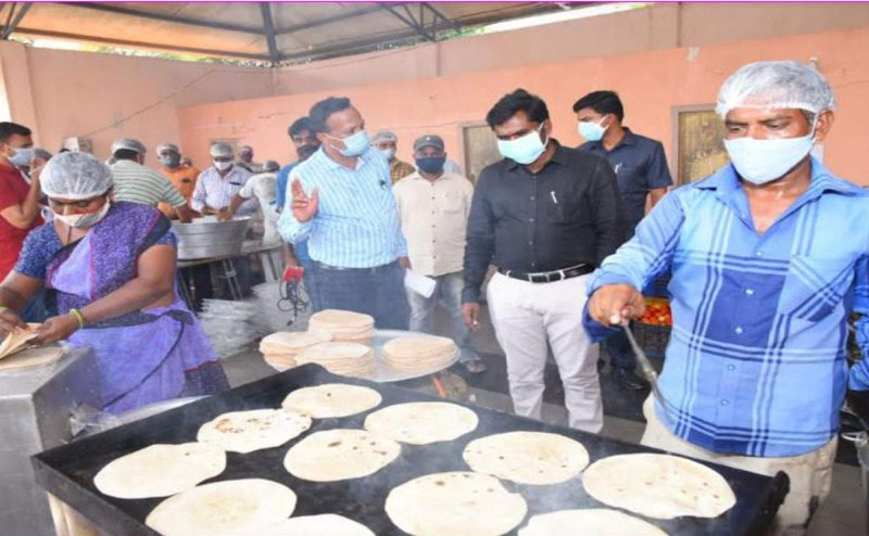 Food for Covid patients: Ananthapuram stands out as a model