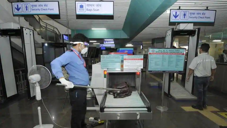 Noida: Aqua Line restarts metro; ridership low on first day