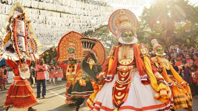 Kerala folk art festival 'Utsavam 2021'  begins