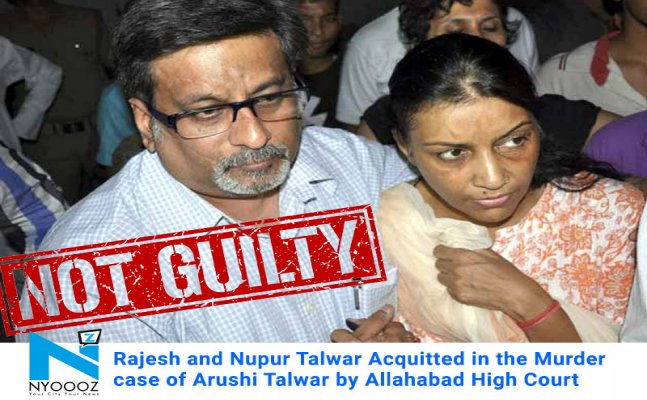 Aarushi murder case Live Updates  : Allahabad HC acquitted Talwar`s in Aarushi Murder Case