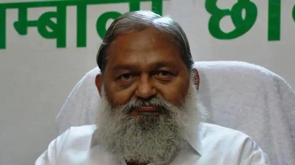 Haryana home minister Anil Vij discharged from hospital