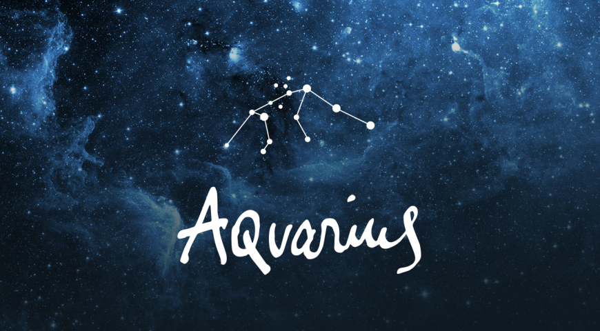 Aquarius- The Water Bearer (January 21-February 20)