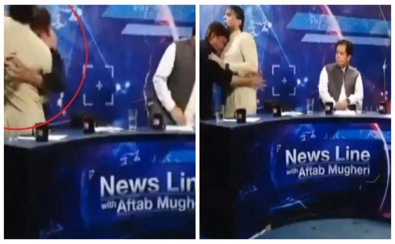 Watch: Fight breaks out in Pakistan's live TV debate