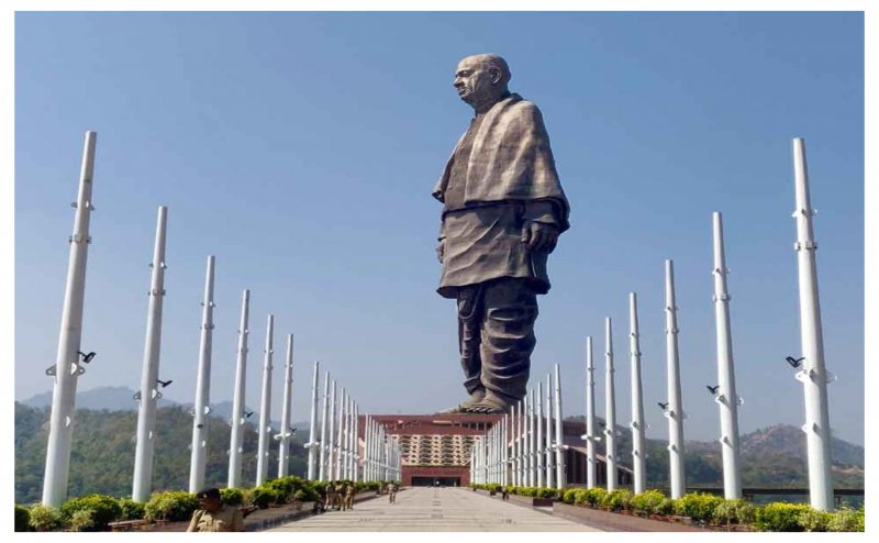 'Statue of Unity'named as eighth Wonder of World