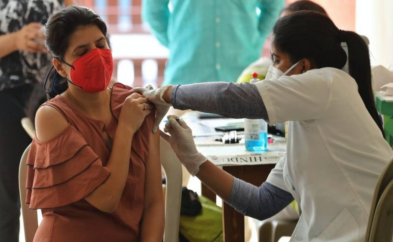 240 journalists in Hubballli get Covid19 vaccination