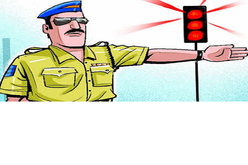 BYJM leader drives in no entry zone, cop issues Rs 11,000 chalan