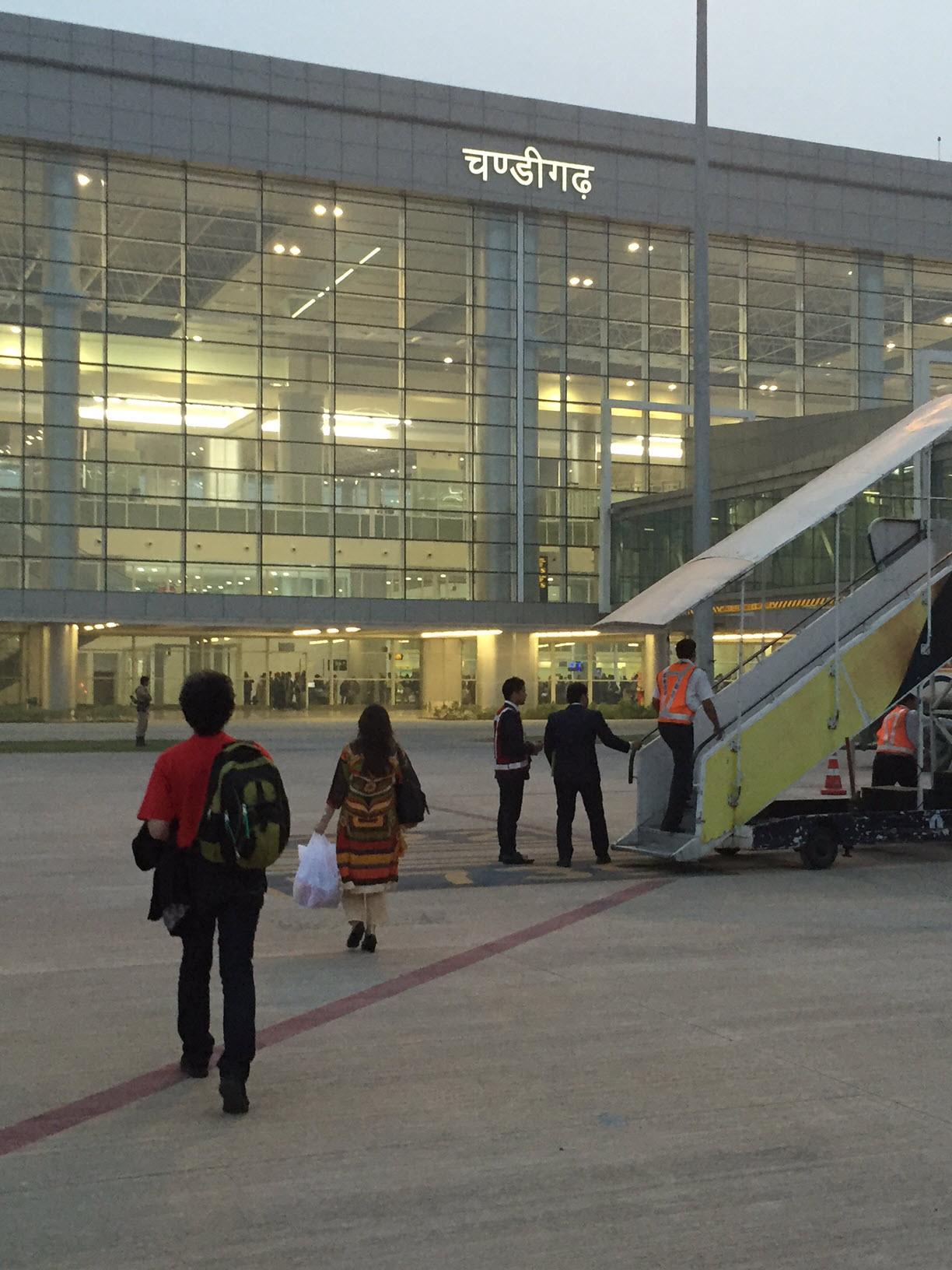 Vande Bharat flight carrying 86 passengers from Dubai landed in Chandigarh on Wednesday