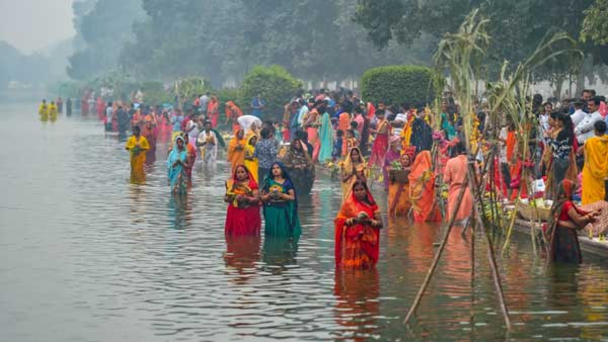 No Chhath celebrations along waterbodies in Jharkhand: State government