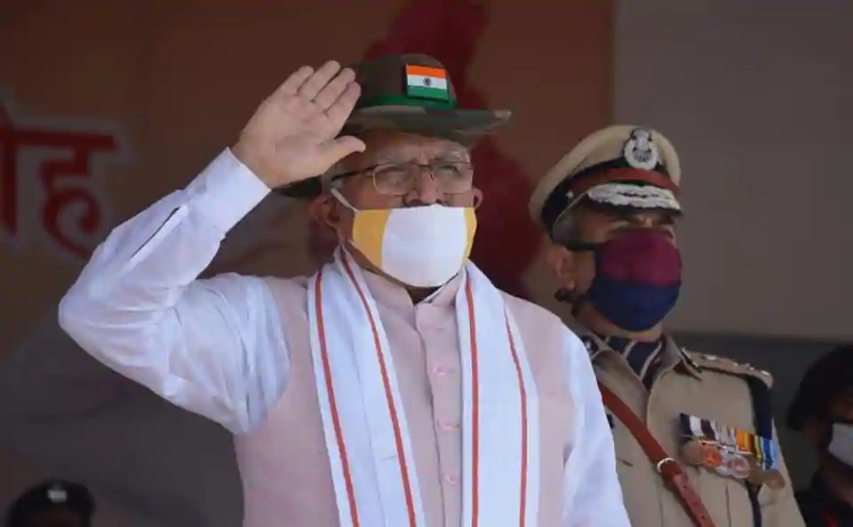 Haryana CM salutes bravehearts of Galwan Valley, honours corona warriors