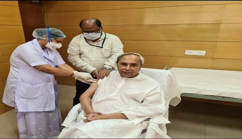 Odisha CM Naveen Patnaik takes Covid-19 jab as govt orders offline registration for vaccination