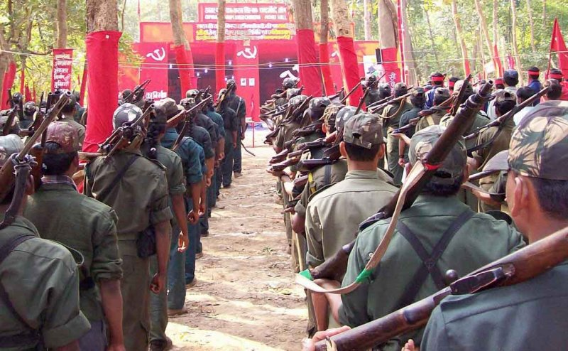 Police and Maoists clash in Vizag