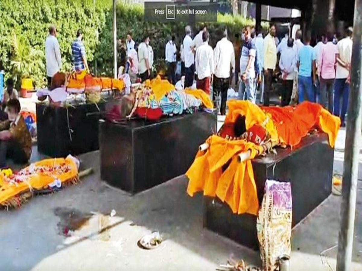 Fuel replaces ghee in Surat cremations as Covid deaths spike
