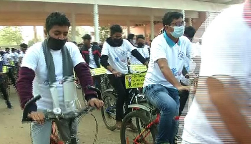 National road safety month: Cyclothon promotes road safety awareness in Bhubaneswar