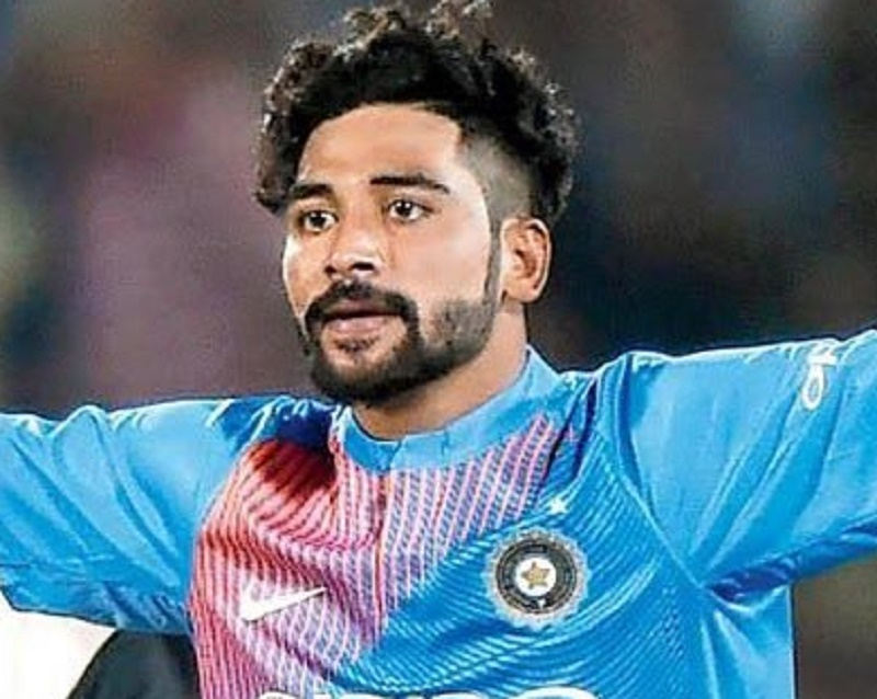 Mohammed Siraj returns to Hyderabad after creating history in Brisbane