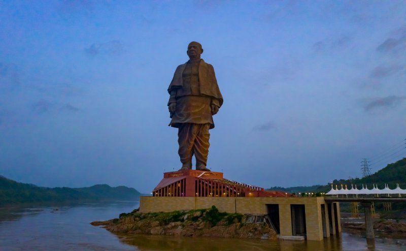 Statue of Unity is the new tourist attraction in India, tourists footfall in Diwali holidays increased by 50%