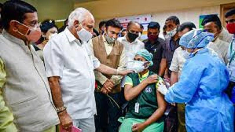 COVID vaccination drive begins at 243 sites across Karnataka