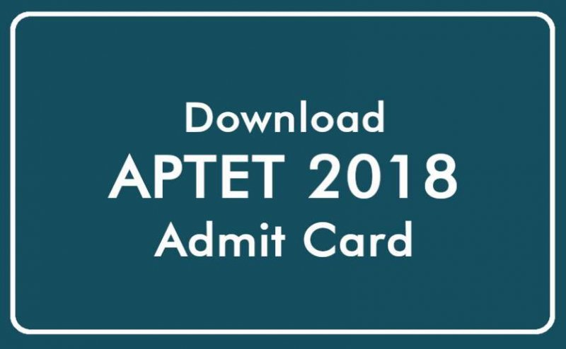 APTET 2018 admit cards released: Know how to download