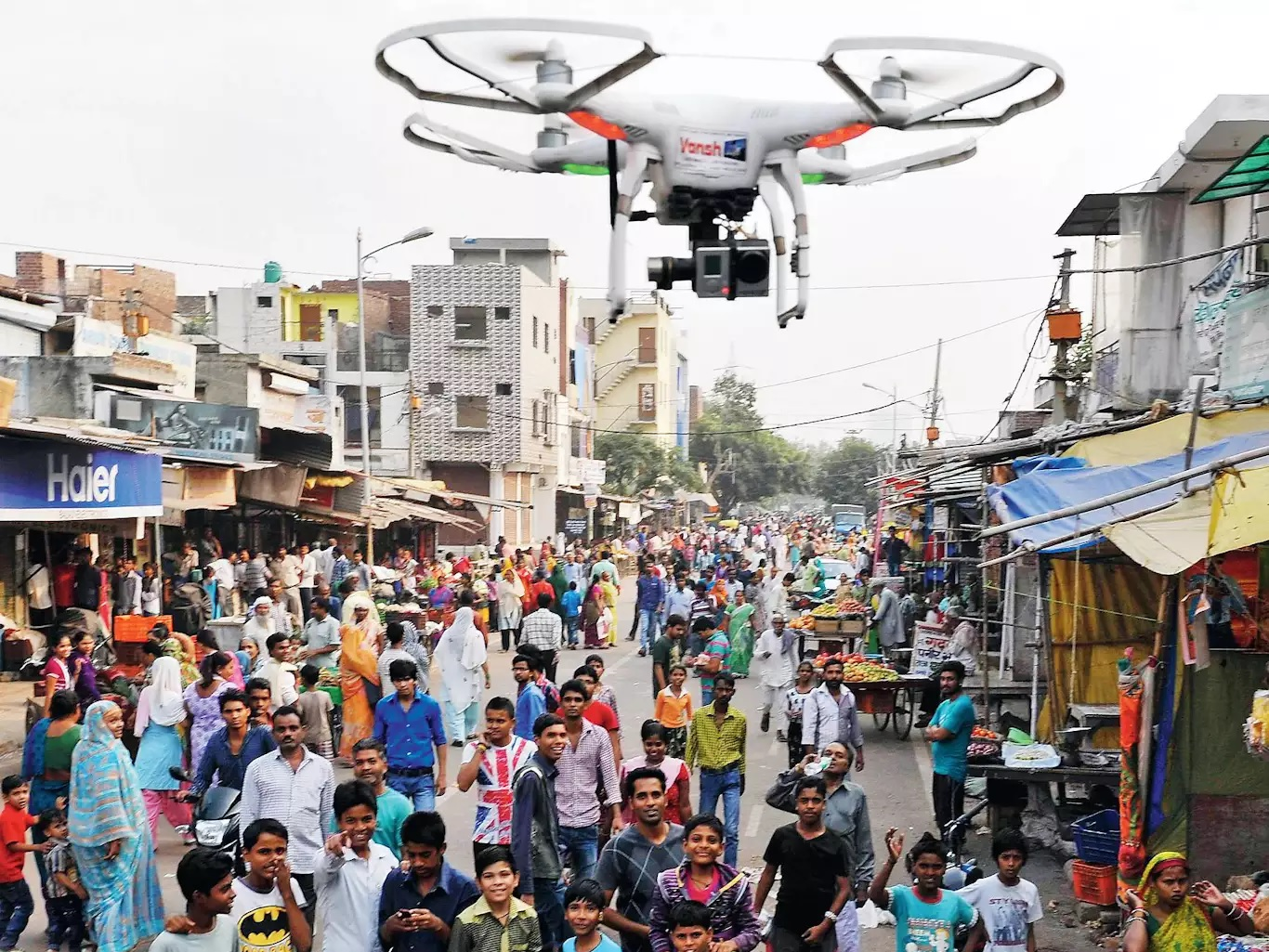 Allahabad High court directs drone surveillance to check violation of social distancing and mask norms