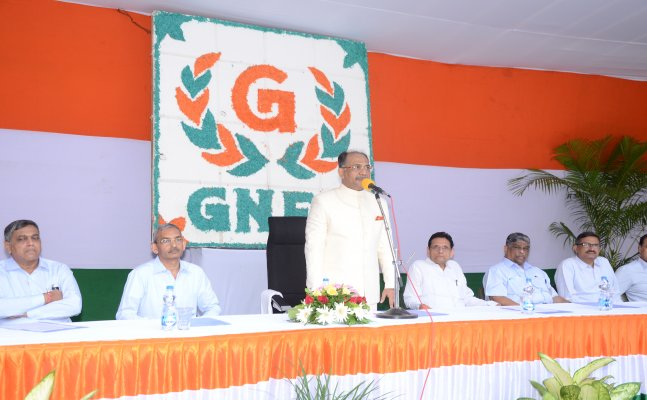 GNFC celebrated 71st Independence Day with zeal and enthusiasm