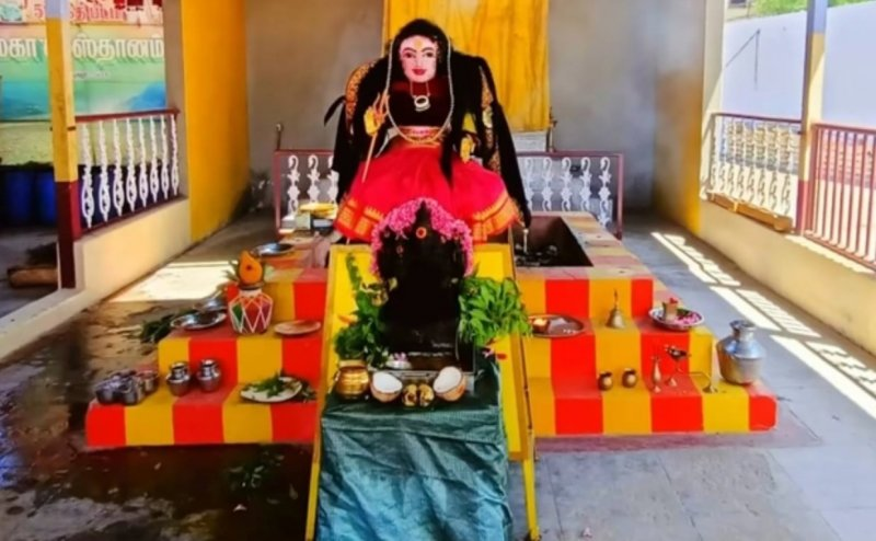 Coimbatore temple sets up a `Corona Devi` Idol, the city has a `Plague` temple too