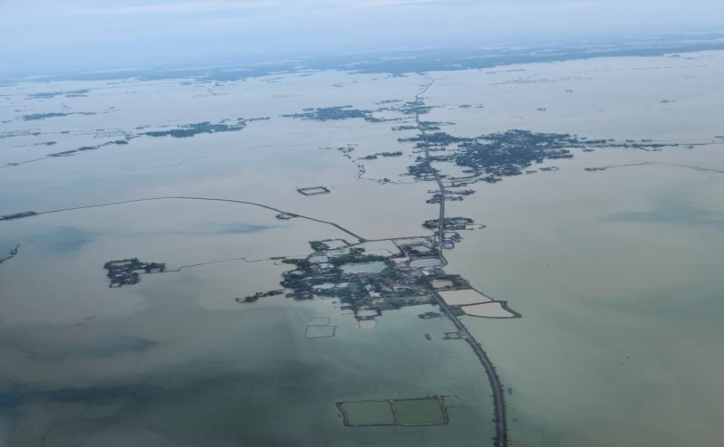 Odisha: CM Naveen Patnaik conducts aerial survey of areas badly affected by Cyclone Yaas