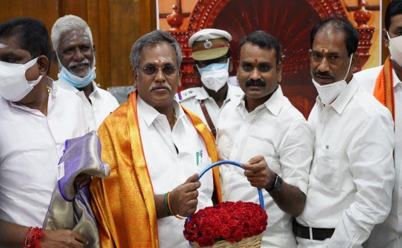 Manaveli BJP MLA Embalam R Selvam elected unopposed as speaker of Puducherry Assembly